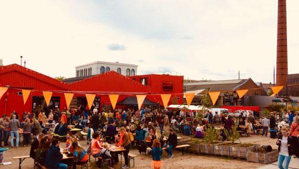 Koningsdag Amersfoort 2018 in De Nieuwe Stad