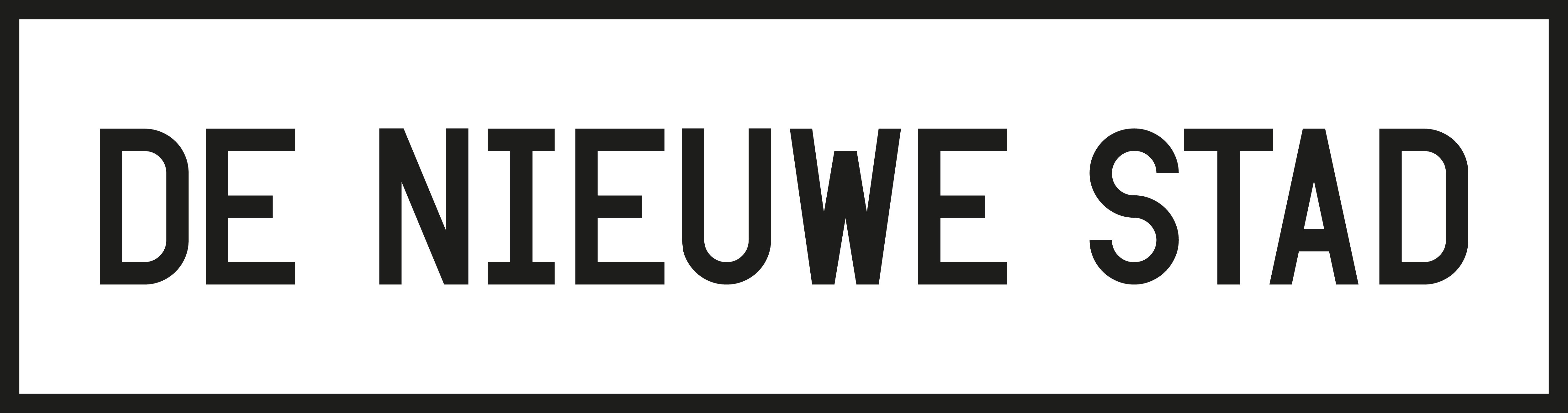 De Nieuwe Stad logo